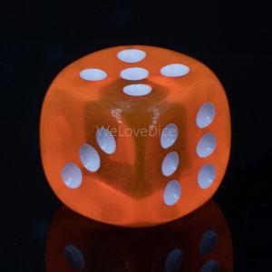 20mm W6  neon orange / weiß