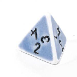 W4 porzelan blau / schwarz