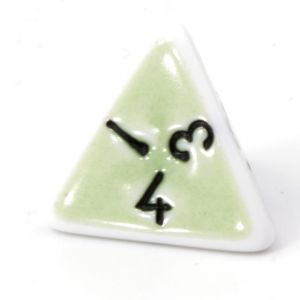 D4 Porcelain green  / black