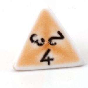 W4 porzelan orange / schwarz