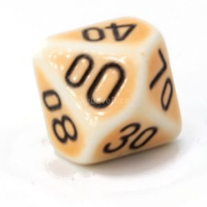 D10/10 porcelain orange / black