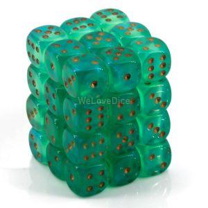 Borealis™ Light Green w/gold 12mm W6 36 Stk