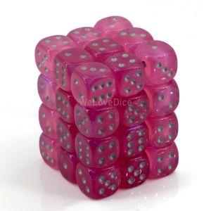 Borealis™ Pink w/silver 12mm W6 36 Stk