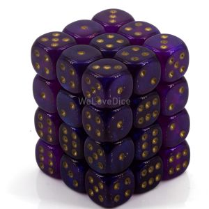 Borealis™ Royal Purple w/gold 12mm W6 36 Stk