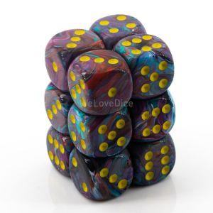 Festive™ Mosaic™  w/yellow 16mm W6 12Stk