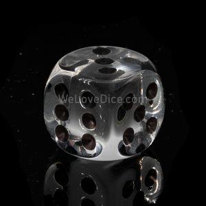 16mm W6 glasklar / schwarz