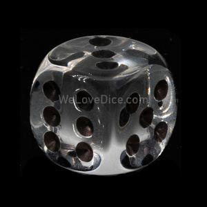 20mm W6 glasklar transparent / schwarz Deutsch