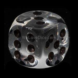 22mm D6 crystall clear / black