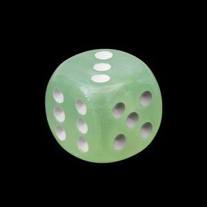16mm W6  grün / weiß