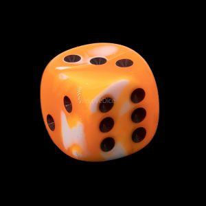 16mm W6  neon orange / schwarz