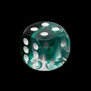 16mm W6  kristall grün  / weiß