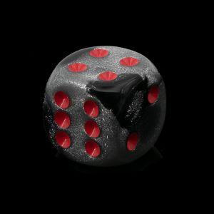 16mm W6  silber schwarz / rot